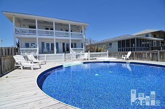 421 Fort Fisher Boulevard, Kure Beach - ocean front home ...