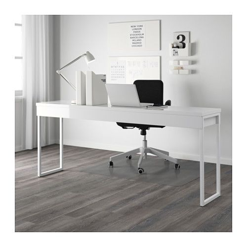 best burs desk high gloss white pinterest bureau ikea offices and tables. Black Bedroom Furniture Sets. Home Design Ideas