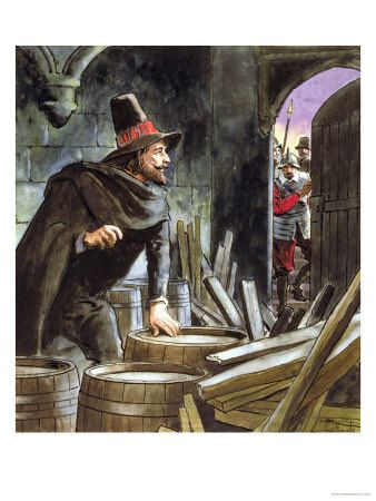Guy Fawkes  This Day in History:  Nov 5, 1605: King James learns of gunpowder plot by Guy Fawkes http://dingeengoete.blogspot.com/