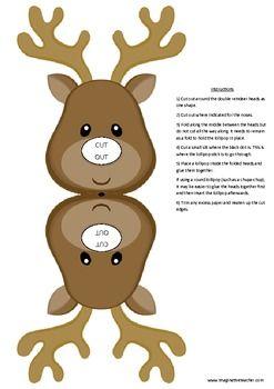 "Résultat de recherche d'images pour ""reindeer chupa chups template"""