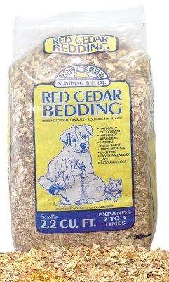 Cedar Pressed Bedding 2.2Cf