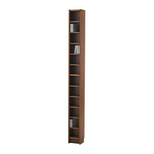 BENNO Range-DVD IKEA Tablettes à hauteur réglable, à adapter selon vos besoins.