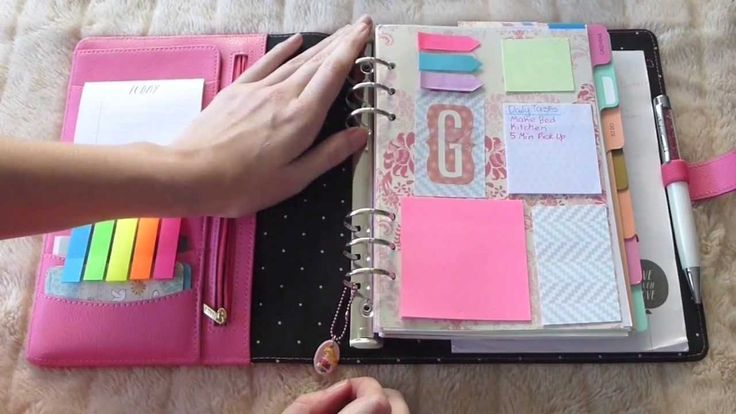 Kikki K Planner Like the Stablio pens she uses (.880)