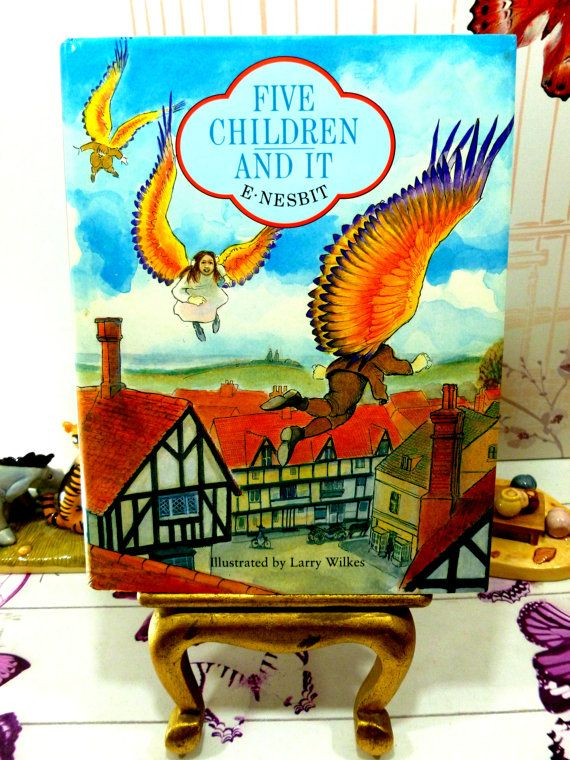 Five Children and It E Nesbit Beautifully by KittysTales on Etsy