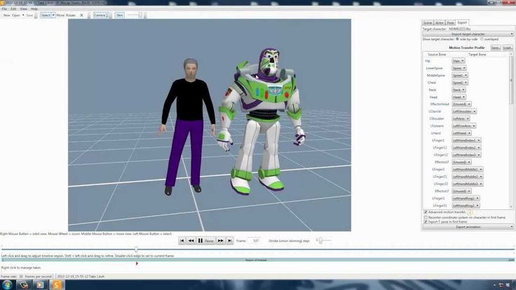 Animating Woody with Mocap A Pixar animation reproduction