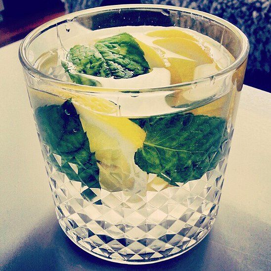 Detox With Lemon Cucumber Ginger Mint Water