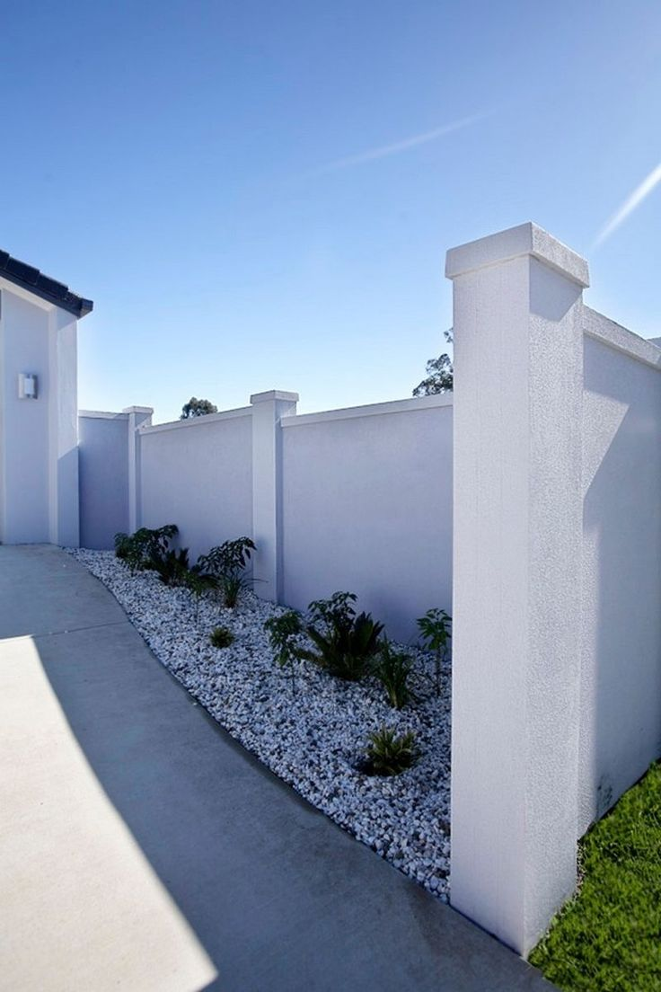Beautiful Boundary Wall Design : Best fences images on wall design doors