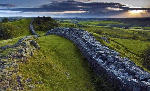 Vallo di Adriano. Hadrian's Wall.