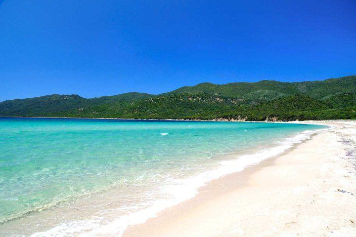 Top 10 beaches in Corsica - Cupabia Beach