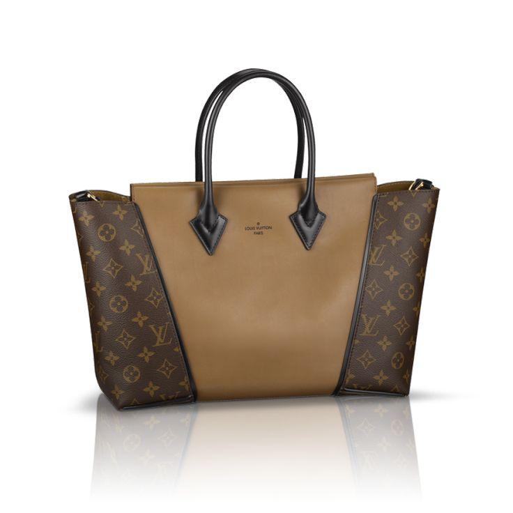 Louis Vuitton W PM Brown Top Handles