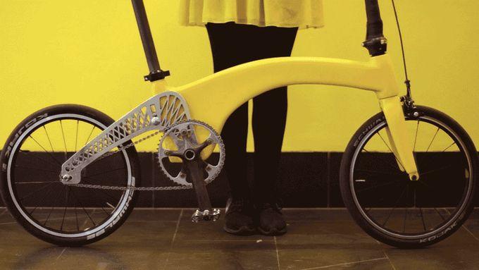 Hummingbird Bike, 6,5 kilogramlık ağırlığıyla şehir içinde rahatça kullanılabilen ve taşınabilen bir bisiklet tasarımı.