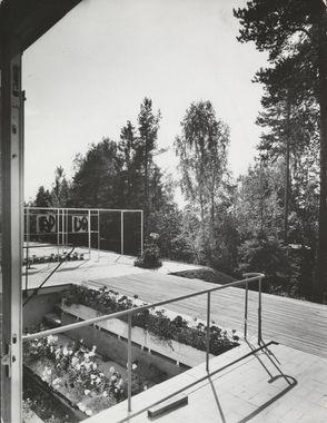 DigitaltMuseum - Arne Korsmo og Grete Prytz Kittelsens bolig i Planetveien