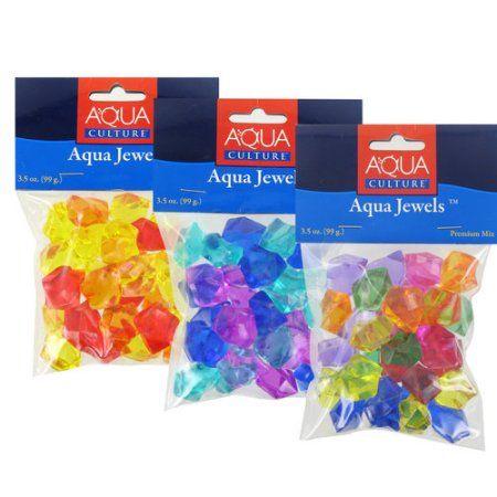 Aqua Culture Assorted Mix Aqua Jewels, 3.5 oz