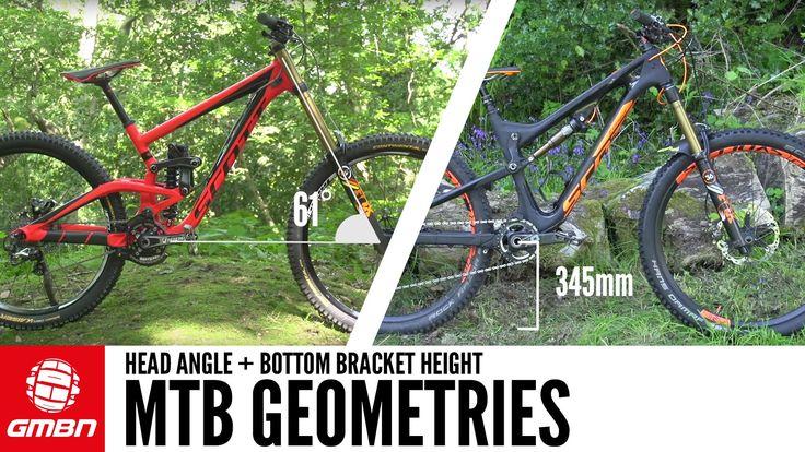 Bike Geometry - Head Angle and Bottom Bracket Height Explained