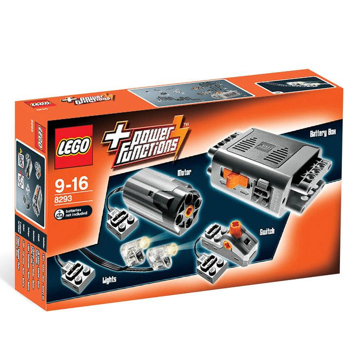 LEGO 8293 Power Functions Motor Set aus supplier $47