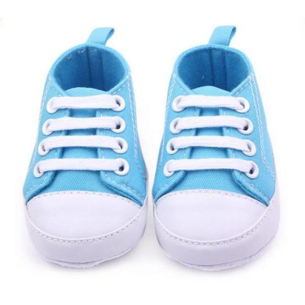 Chaussures Bébé prewalker Casual Nouveau-né Infant Nursery enfant unisexe Bleu foncé 13cm h5qX3kPINA