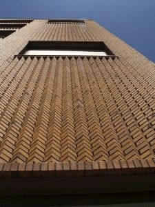 brick facade