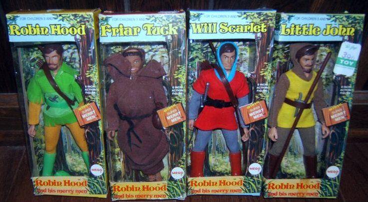 MEGO action figure pupazzi giocattoli vintage anni 70Curiosando ...