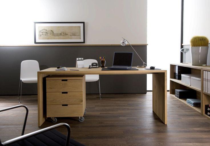 #Ethnicraft #Office #Billy #Box #U #Table