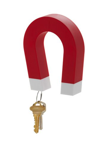 Attracted to Organization Wall MagnetKeys Magnets, Keys Hangers, Magnets Keys, Key Holders, Lost Keys, Constant Lose, Keys Holders, Wall, Keys Stuff