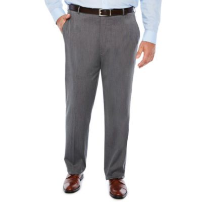 J.Ferrar Woven Suit Pants-Big and Tall Fit