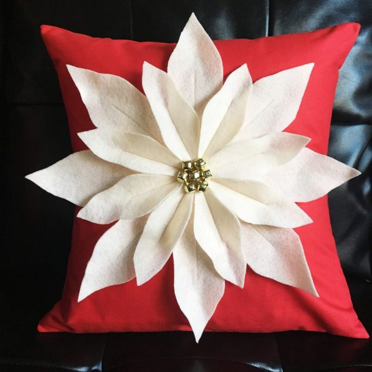 Simple Hand Warmer Tutorial - and Poinsettia Pillow Sewing Pattern -The Polka Dot Chair
