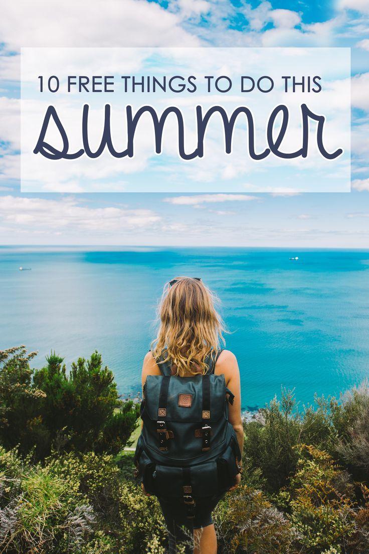 Get your summer bucket list in order