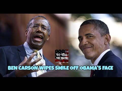 MUST WATCH! Ben Carson Wipes Smile Off Obama's Face! Amazing!