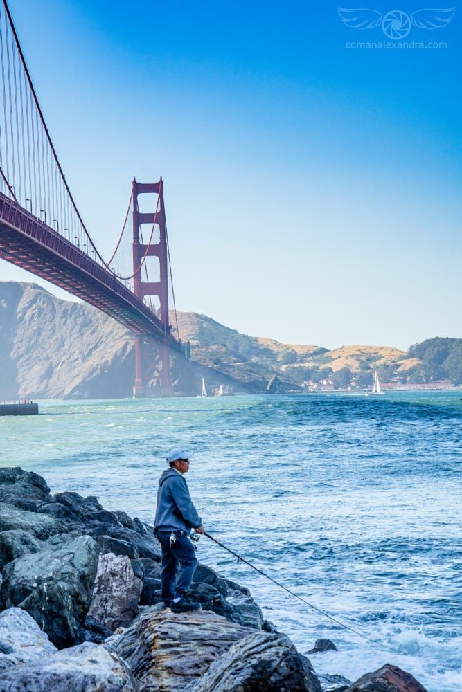 Golden Gate Fishing by Alexandra Coman on 500px