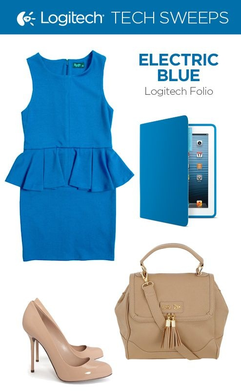 Repin and then click on the image to enter for a chance to win the Logitech Folio in Electric Blue.