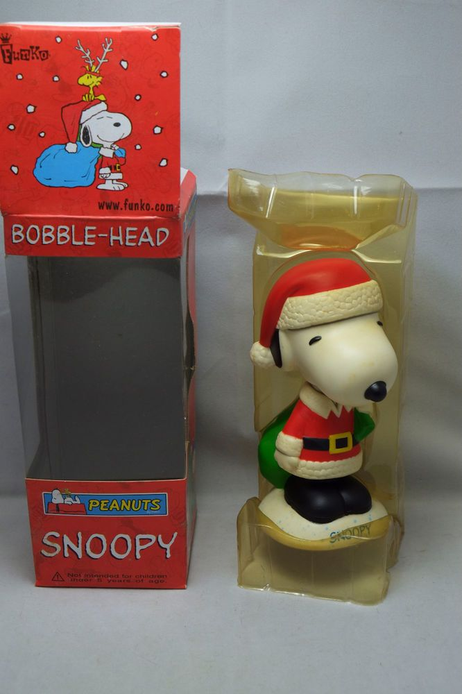 FUNKO PEANUTS CHRISTMAS SNOOPY WACKY WOBBLER BOBBLE HEAD  | eBay