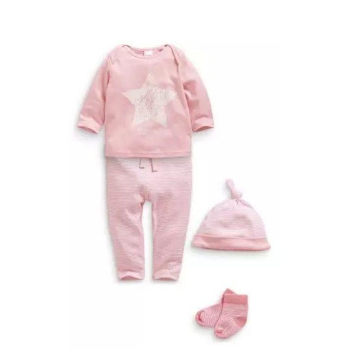 Мальчика девочек детей новорожденного + полосатые брюки + экипировка комплектов…