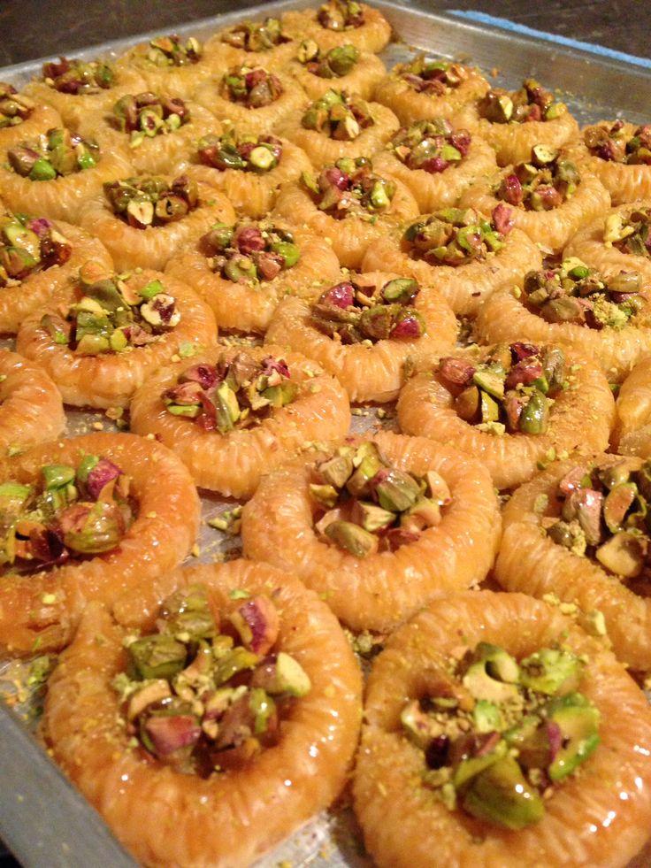 Baklava بقلاوة عش العصفور