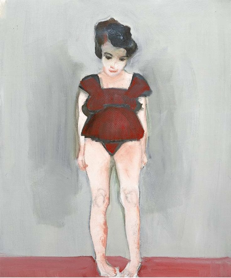 I love the pigeon toe stance and how it depicts that uncomfortable age. marlene dumas