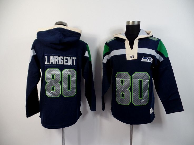 Men's Nike NFL Seattle Seahawks #80 Largent 2015 New Navy Hoodie http://www.wholesalejerseyclearance.com/nfl-seattle-seahawks_gc161_1_15.html