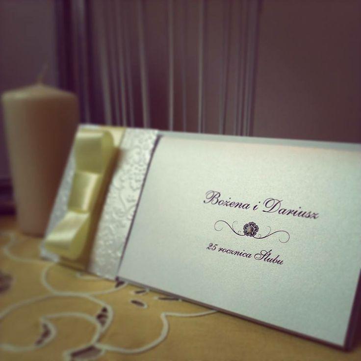 #srebrne #wesele #zaproszenie | www.slubnawzorcownia.blogspot.com