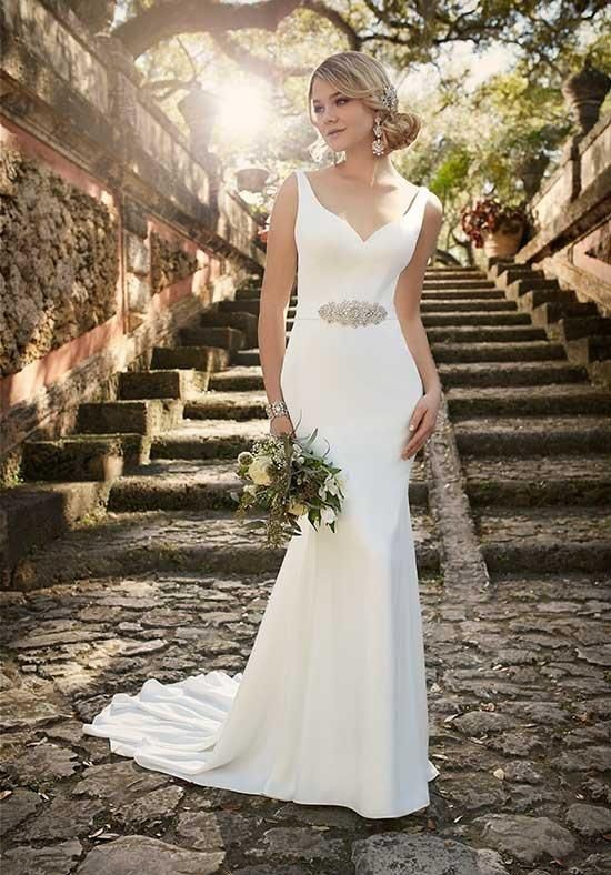 essence of australia gown with sheath silhouette