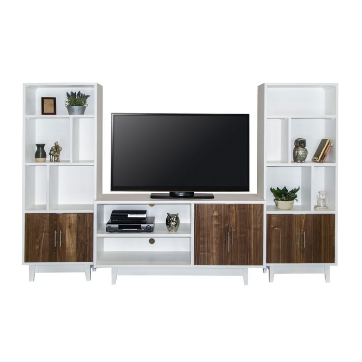 Legends Furniture Draper Lowboy TV Console with Optional Wall Piers - LEG648