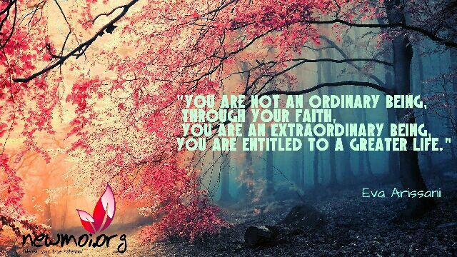 Extraordinary being : Eva Arissani www.newmoi.orf