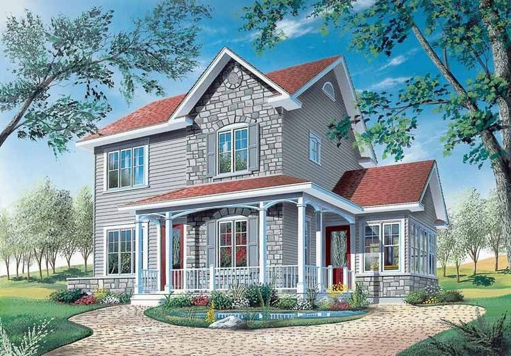 Eplans Victorian House Plan - Three Bedroom Victorian Eclectic - 1516 Square Feet and 3 Bedrooms from Eplans - House Plan Code HWEPL06377