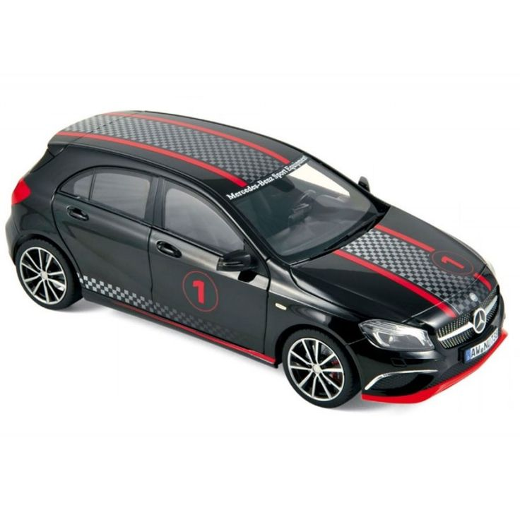 Mercedes-Benz CLASE A-Klasse Sport Equipment 2013 black with racing deco HQ