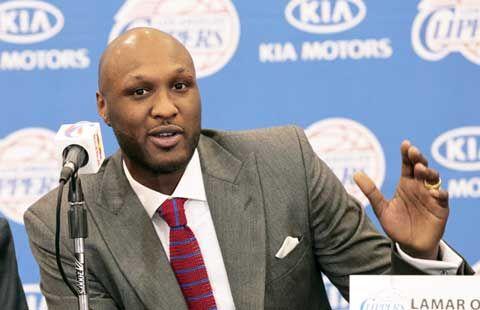 Retired NBA Star - Lamar Odom -