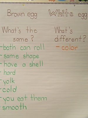 diversity egg chart...I plan to do this using a Venn diagram.  Great visual to help make a very important point!
