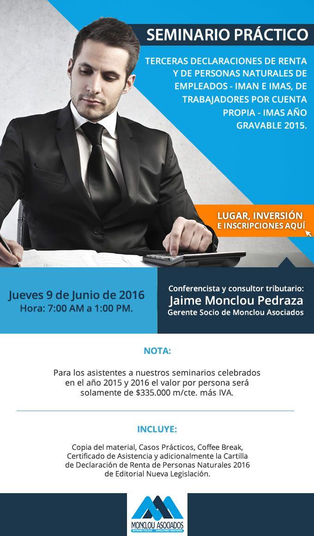 #NOVOCLICK esta con #Monclou Asociados #SeminarioPráctico