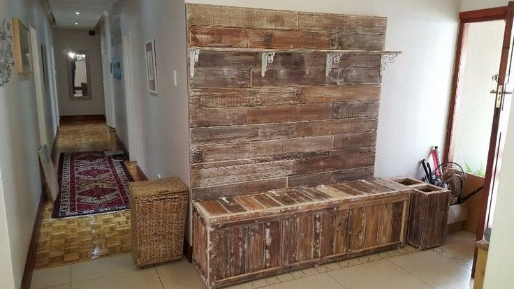 """·        Isn't it time to change thingsup a bit around your home or business? Well we specialize incustom-handmade pallet products from a mix of new and old timber wood,resulting in QUALITY furniture!! Visit our website www.ccreations.co.za  to view our range of exclusive products andpricelist. Alternatively, see our facebook page """"ccreations""""."""