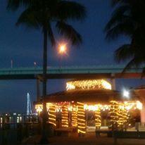 Christmas Florida Style Snug Harbor Marina  Ft. Myers Beach