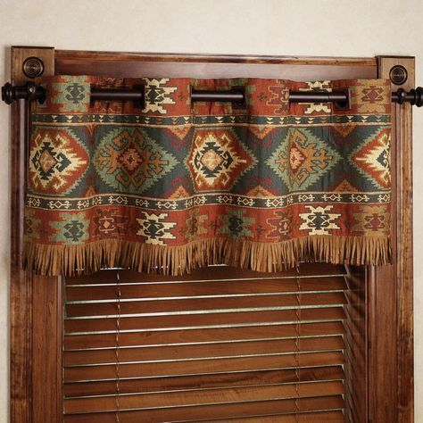 southwestern window treatments | Home Canyon Ridge Grommet Curtain Pair Saddle Brown 84 x 84: