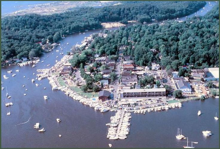 "Saugatuck, Michigan.  A great ""small"" town full of unique shops, an artist colony, and Lake Michigan sandy beaches."