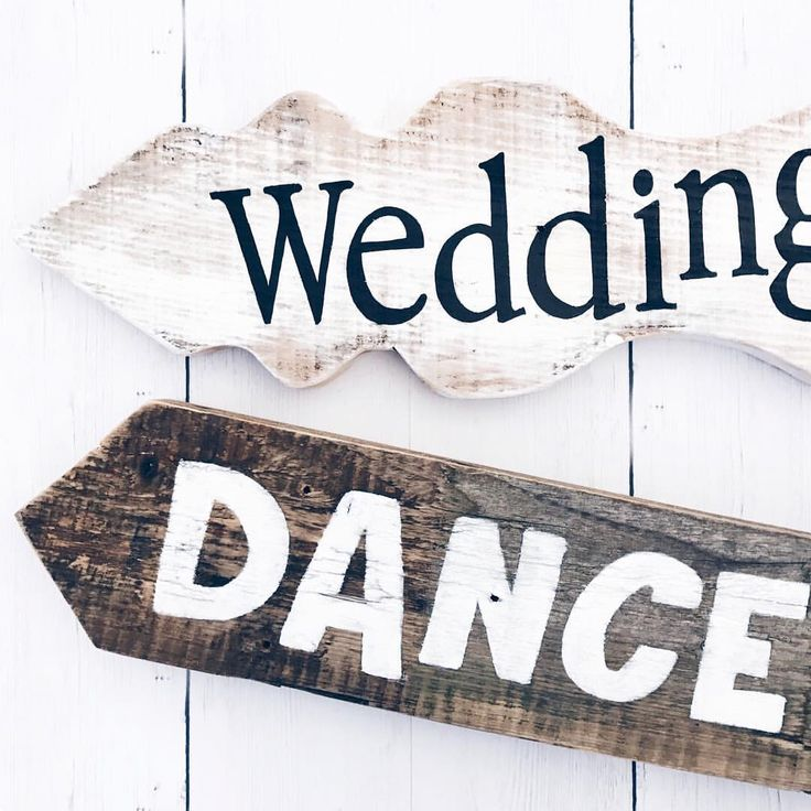 Handgemaakte wegwijzers voor jullie bruiloft • studiosproet.com