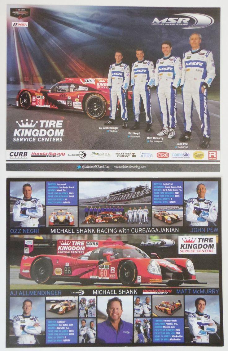2015+IMSA+Michael+Shank+Racing+Team+Hero+Card+Honda+HPD